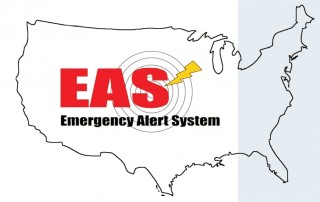 Emergency Alert System map