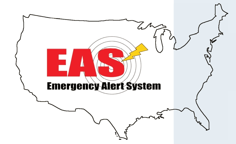 Emergency Alert System map