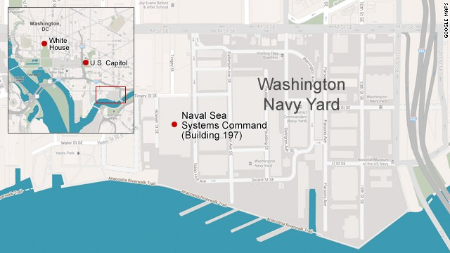 Washington Navy Yard courtesy CNN